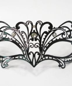 Taboo Intimacy Venetian Black Mask