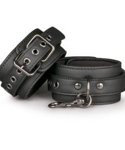 Black Ankle Cuffs