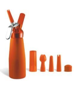 Special Blue 1 Pint Whip Cream Dispenser Orange