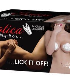 Erotica Cream 8g Chargers 24x